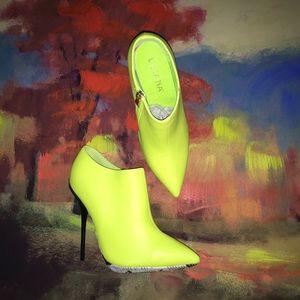Liliana Neon Stiletto Bootie
